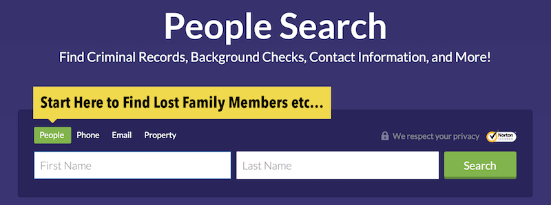 Find Lost Family Members